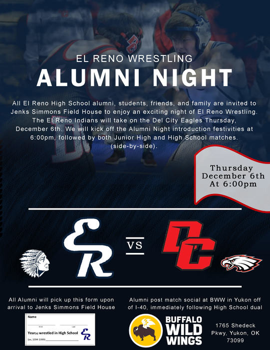 alumni night wrestling