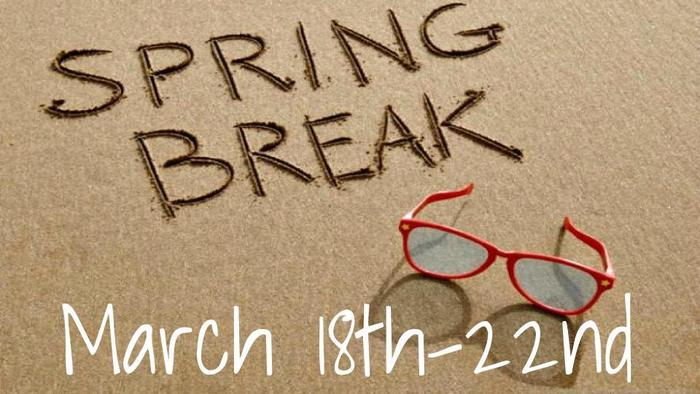 spring break dates